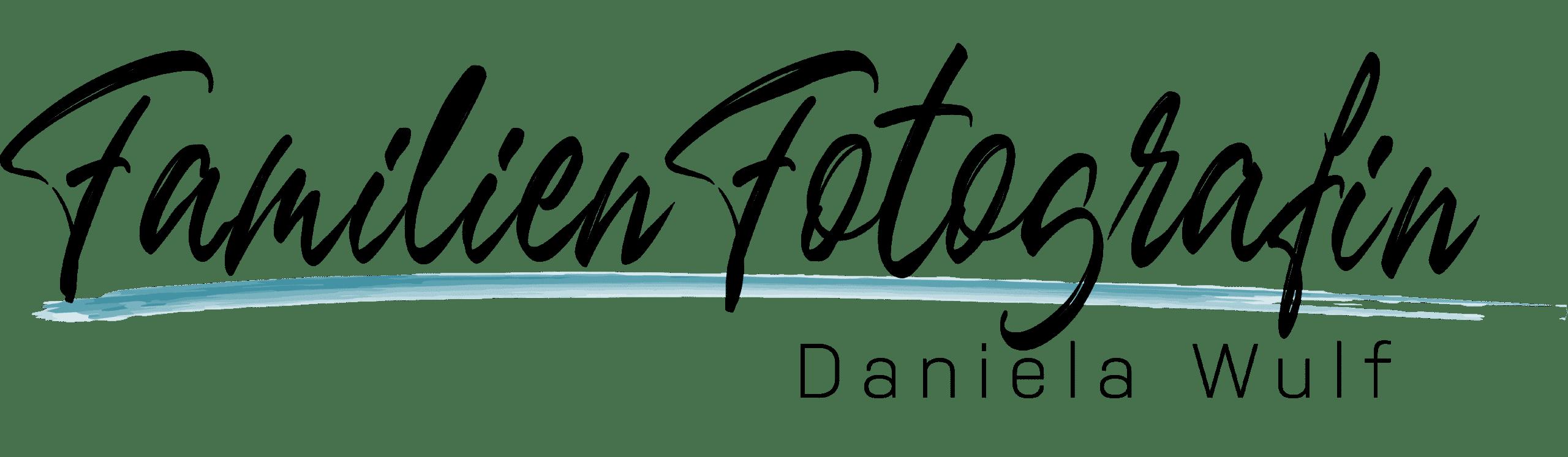 Familienfotografin – Daniela Wulf Logo